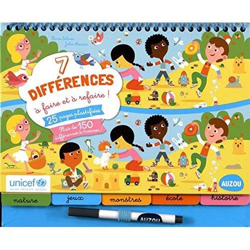 7 DIFFERENCES A FAIRE ET A REFAIRE - EDITION 2015 (COLL. BLOC-NOTES) EN COLLABOR