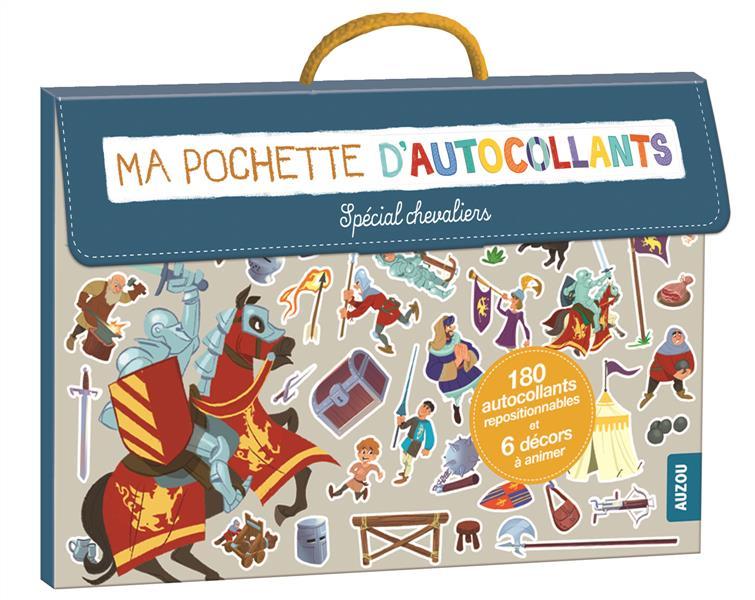 MA POCHETTE D'AUTOCOLLANTS - SPECIAL CHEVALIERS (COLL. MA POCHETTE D'ARTISTE)
