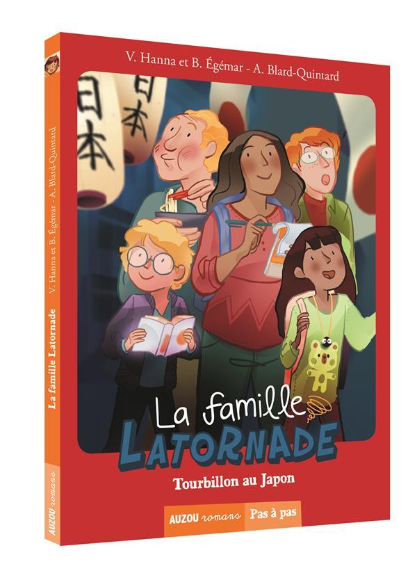 LA FAMILLE LATORNADE - TOME 2 TOURBILLON AU JAPON (COLL. PAS A PAS)