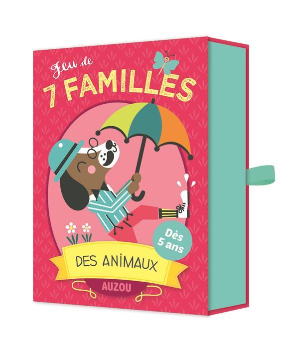 JEU DE 7 FAMILLES DES ANIMAUX