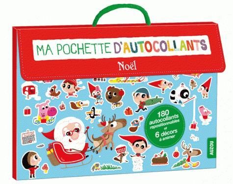 POCHETTE D'AUTOCOLLANTS DE NOEL (COLL. MA POCHETTE D'ARTISTE)