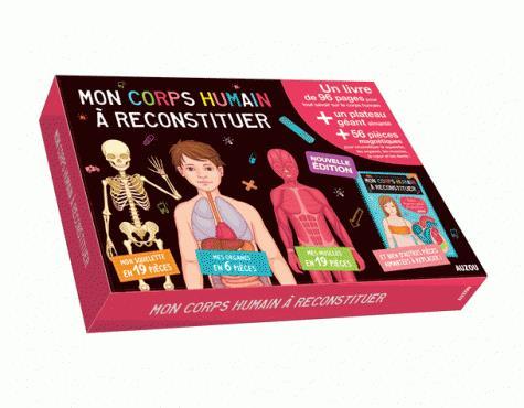 MON CORPS HUMAIN A RECONSTITUER (COLL. MES PREMIERS COFFRETS D'APPRENTSSAGE)