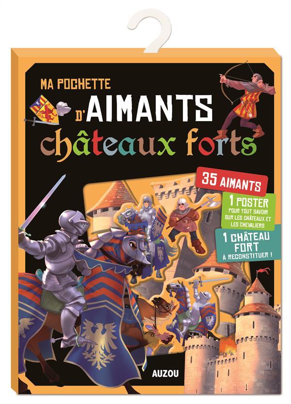 MA POCHETTE D'AIMANTS - CHATEAUX FORTS