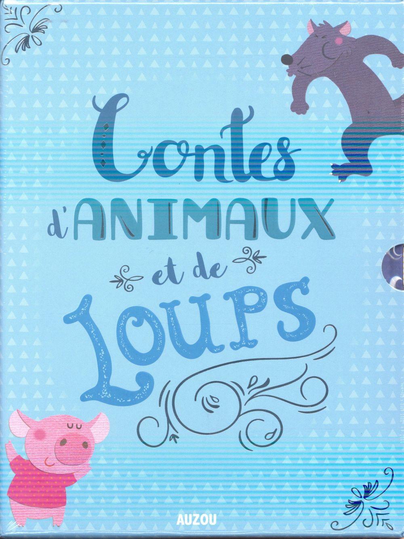 CONTES D'ANIMAUX ET DE LOUPS (COFFRET 5 P'TITS CLASSIQUES)