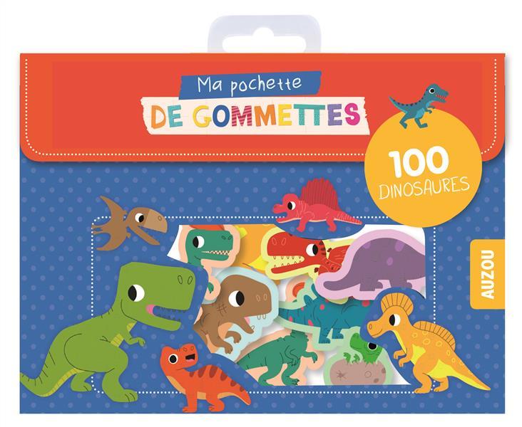 MA POCHETTE DE GOMMETTES - 100 GOMETTES DINOSAURES - 100 DINOSAURES