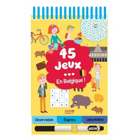 45 JEUX EN BELGIQUE