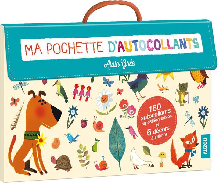 MA POCHETTE D'AUTOCOLLANTS - ALAIN GREE (COLL. MA POCHETTE D'ARTISTE)