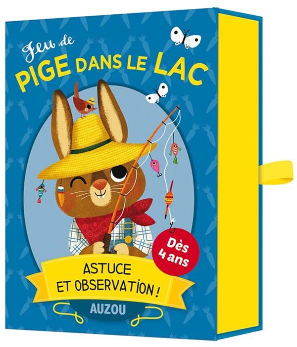 JEU DE PIGE DANS LE LAC - ASTUCE ET OBSERVATION !