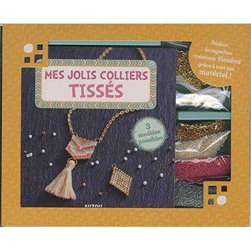 MES JOLIS COLLIERS TISSES - 3 MODELES POSSIBLES