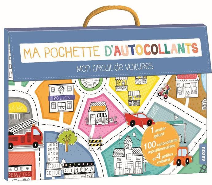 MON CIRCUIT DE VOITURES (COLL. MA POCHETTE D'ARTISTE)