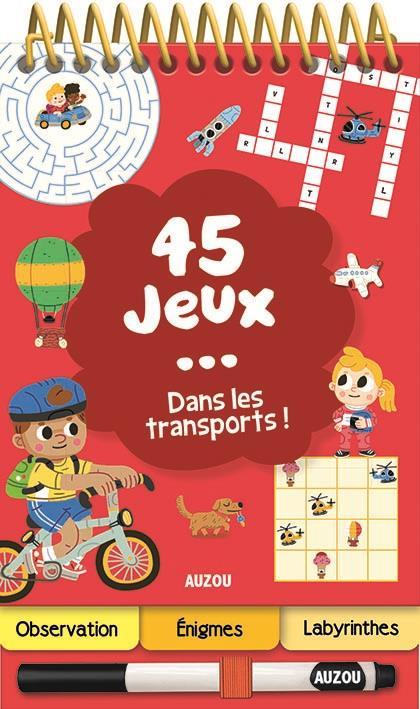 45 JEUX DANS LES TRANSPORTS