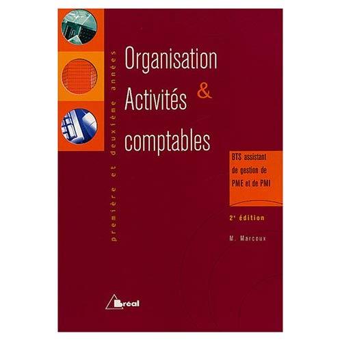 ORGANISATION ET ACTIVITES COMPTABLES (NE)