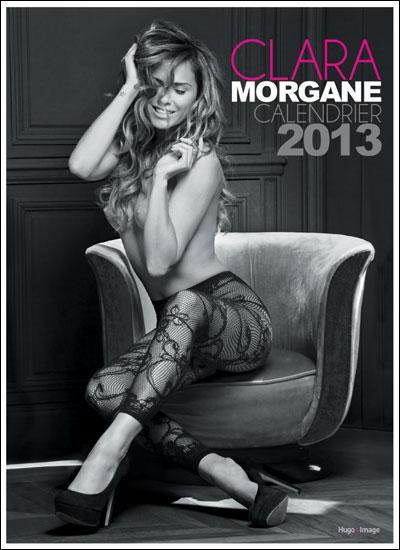 CALENDRIER MURAL CLARA MORGANE + DVD 2013