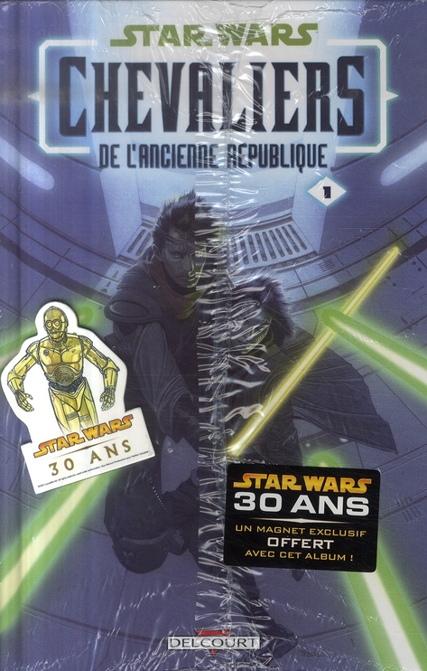 STAR WARS - OP 30 ANS PACK CHEV. ANC. REP + MAGNET