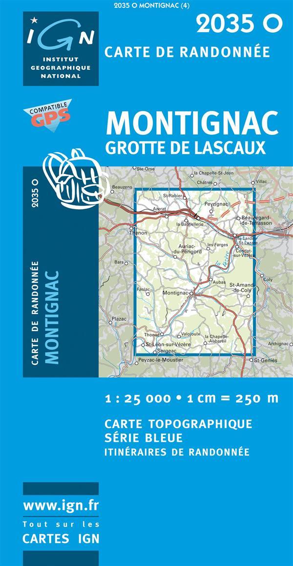 2035O MONTIGNAC/GROTTE DE LASCAUX