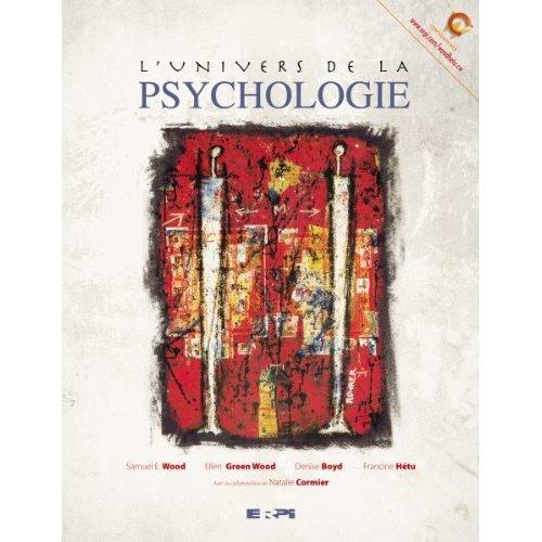 L'UNIVERS DE LA PSYCHOLOGIE + E-TEXT