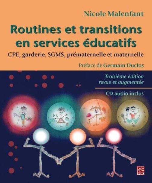 ROUTINES ET TRANSITIONS EN SERVICES EDUCATIFS 3E EDITION