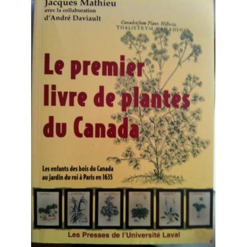 PREMIER LIVRE DE PLANTES DU CANADA LES ENFANTS DES BOIS DU CANADA