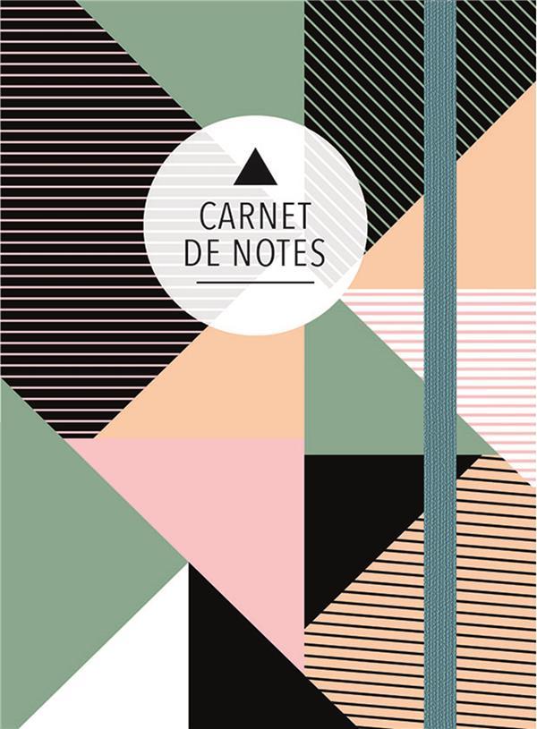 CARNET DE NOTES (PETIT) - TRIANGLES