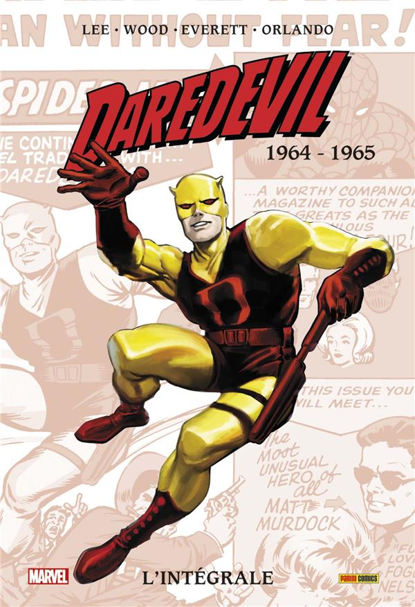 DAREDEVIL : L'INTEGRALE T01 (1964-65) NED