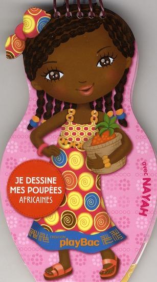 CARNETS DE DESSIN MINIMIKI : JE DESSINE MES POUPEES AFRICAINES