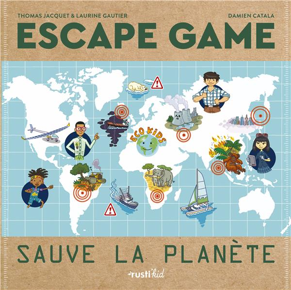 ESCAPE GAME : SAUVE LA PLANETE