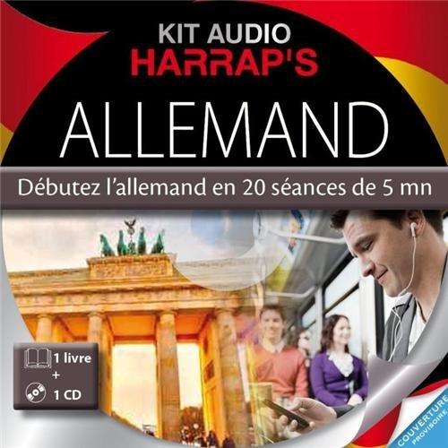 HARRAP'S KIT AUDIO ALLEMAND DEBUTEZ L'ALLEMAND EN 20 SEANCES DE 5 MN