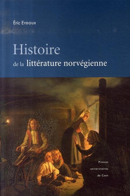HISTOIRE DE LA LITTERATURE NORVEGIENNE