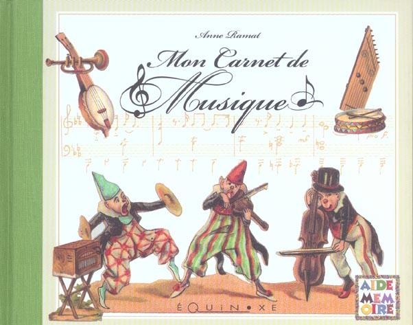 MON CARNET DE MUSIQUE