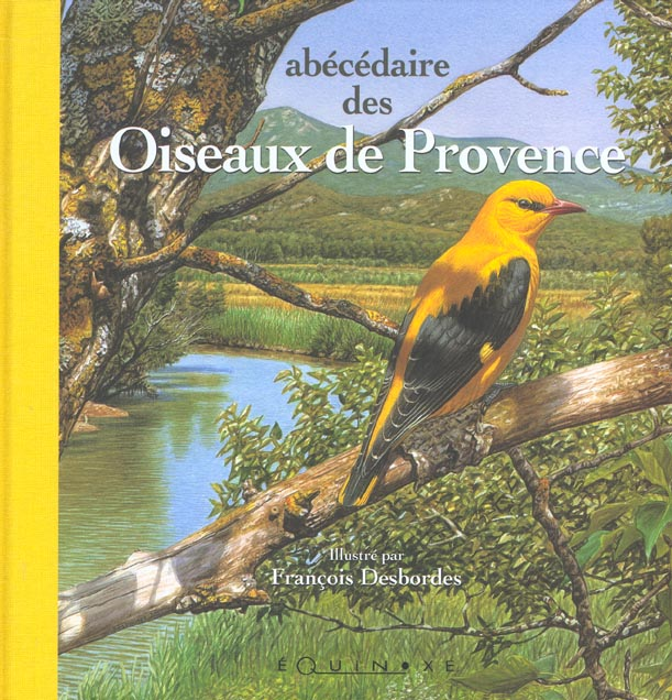ABECEDAIRE DES OISEAUX DE PROVENCE GRAND FORMAT