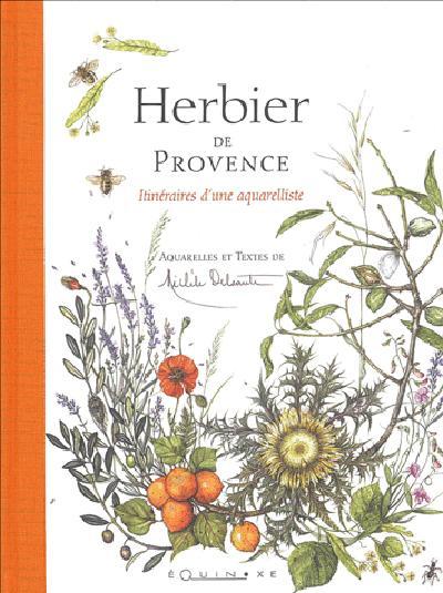 HERBIER DE PROVENCE ITINERAIRES D UNE AQUARELLISTE