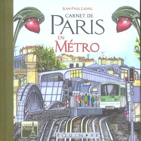 CARNET DE PARIS EN METRO