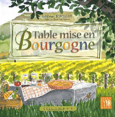 TABLE MISE EN BOURGOGNE