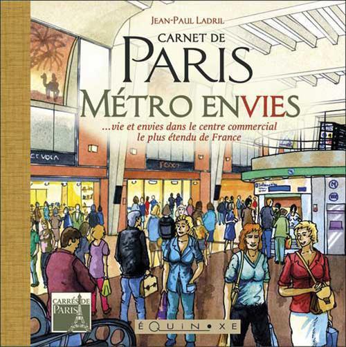 CARNET DE PARIS METRO ENVIES