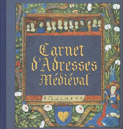 CARNET D'ADRESSES MEDIEVAL
