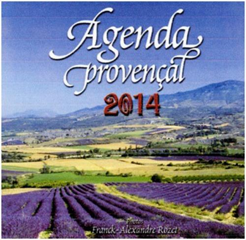 AGENDA PROVENCAL 2014 GRAND FORMAT LAVANDE