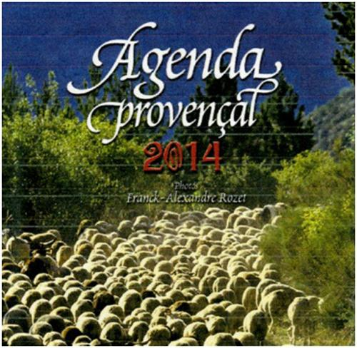 AGENDA PROVENCAL 2014 PETIT FORMAT MOUTONS