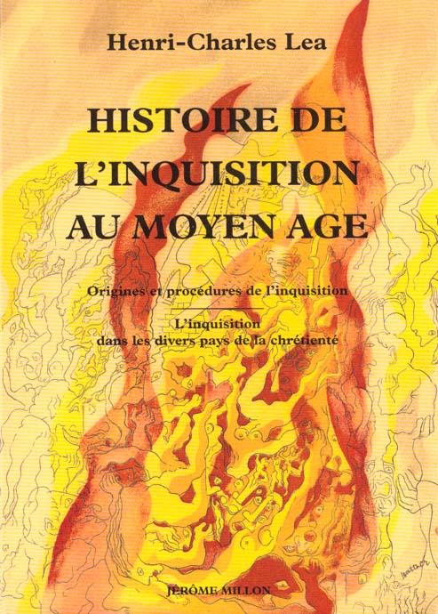 HISTOIRE DE L'INQUISITION AU MOYEN-AGE - TOME 1 ET 2