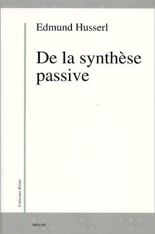 DE LA SYNTHESE PASSIVE