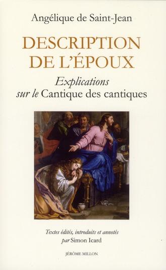 DESCRIPTION DE L'EPOUX
