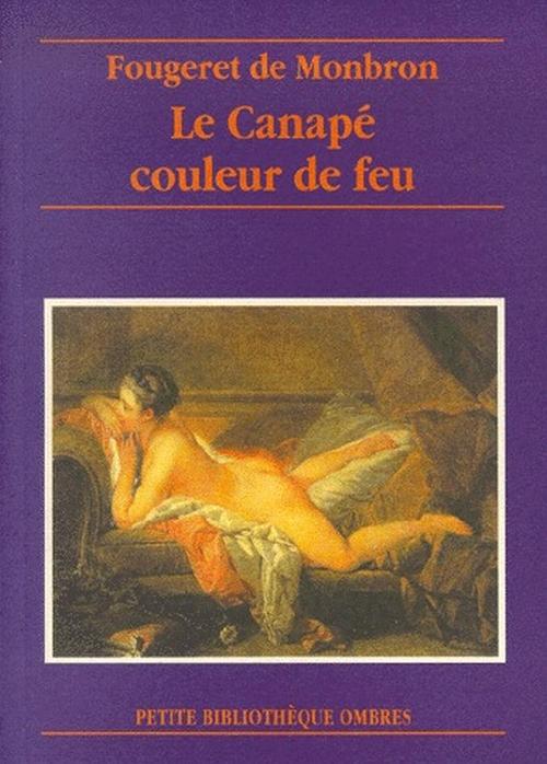 LE CANAPE COULEUR DE FEU