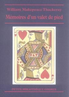 MEMOIRES D'UN VALET DE PIED