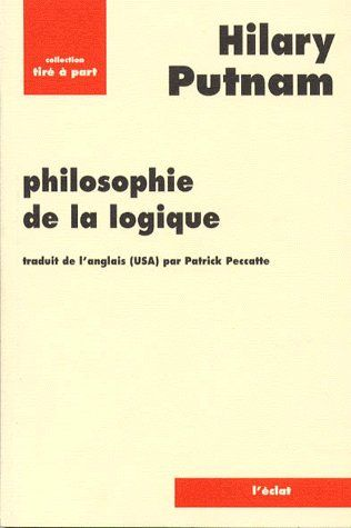 PHILOSOPHIE DE LA LOGIQUE