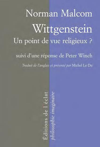 WITTGENSTEIN - UN POINT DE VUE RELIGIEUX ?
