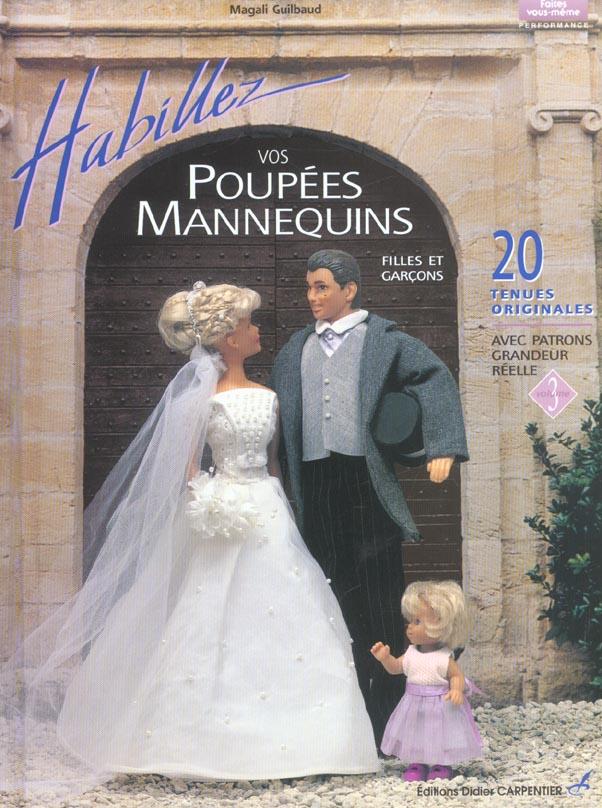 HABILLEZ VOS POUPEES MANNEQUINS