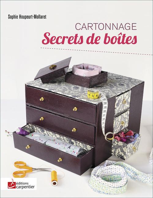 CARTONNAGE - SECRETS DE BOITES