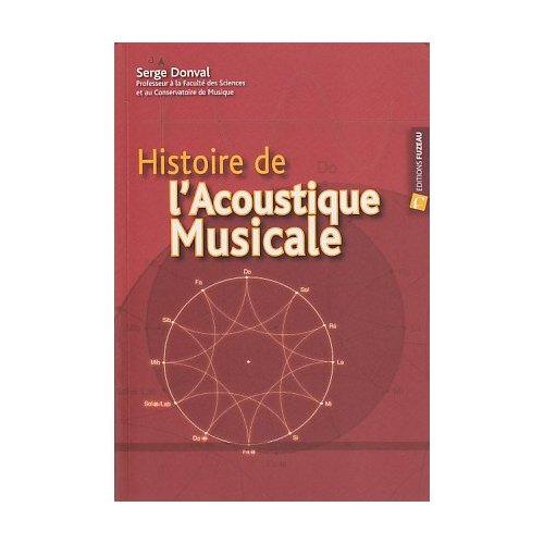 HISTOIRE DE L ACOUSTIQUE  MUSICALE