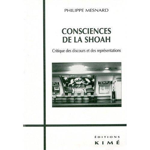 CONSCIENCES DE LA SHOAH