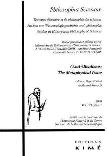 PHILOSOPHIA SCIENTIAE T. 12 / 1 2008 - (ANTI-) REALISM