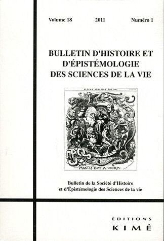 BULLETIN D'HISTOIRE ET D'EPISTEMOLOGIE...18 / 1